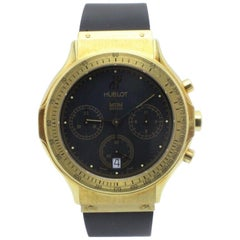 Hublot MDM Chronograph Reference 1621.3 18 Karat Yellow Gold with Papers
