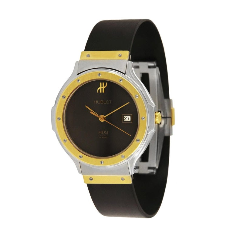 Women's Hublot MDM Two-Tone Classic Watch 140 10 2 For Sale