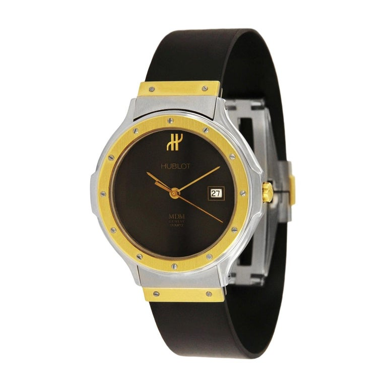 Hublot MDM Two-Tone Classic Watch 140 10 2 For Sale