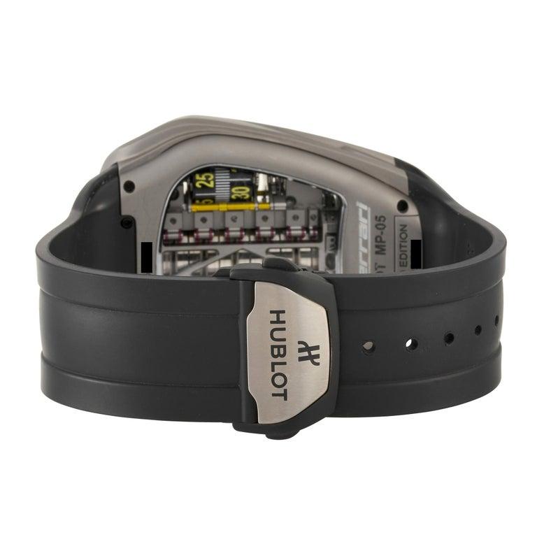 Men's Hublot MP-05 LaFerrari Titanium Watch 905.NX.0001.RX For Sale