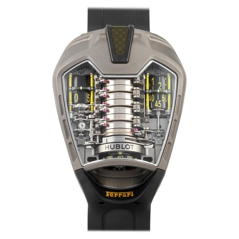 Hublot MP-05 LaFerrari Titanium Watch 905.NX.0001.RX For Sale