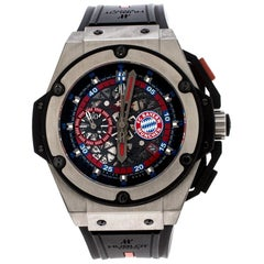 Hublot Skeleton Titanium King Power FC Bayern Munchen Limited Edition Men's Wris