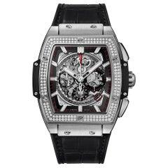 Hublot Spirit Big Bang Titanium Diamonds Men's Watch 601.NX.0173.LR.1104