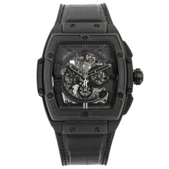 Hublot Spirit of Big Bang All Black Ceramic Men's Watch 641.CI.0110.RX