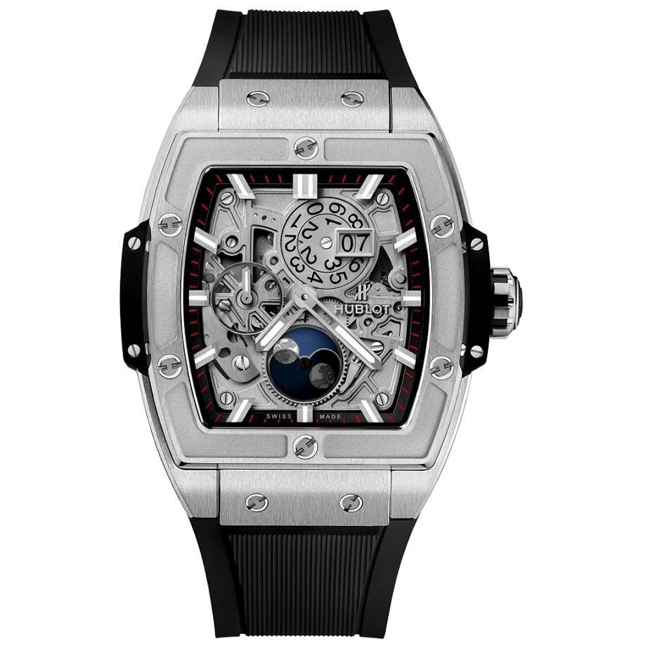 Hublot Spirit of Big Bang Moonphase Titanium Men's Watch 647.NX.1137.RX
