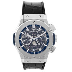 Hublot titanium Classic Fusion Dallas Cowboys Special Ed Automatic Wristwatch