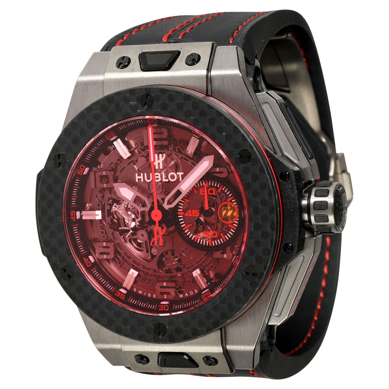 Hublot Unico Ferrari 401.NQ.0123.VR Men's Watch in Titanium