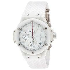Hublot White Ceramic Big Bang Aspen 341.CH.230.RW Unisex Watch 41 mm