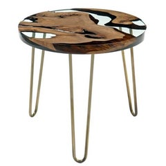 Hudson 60 Epoxy Coffee Table