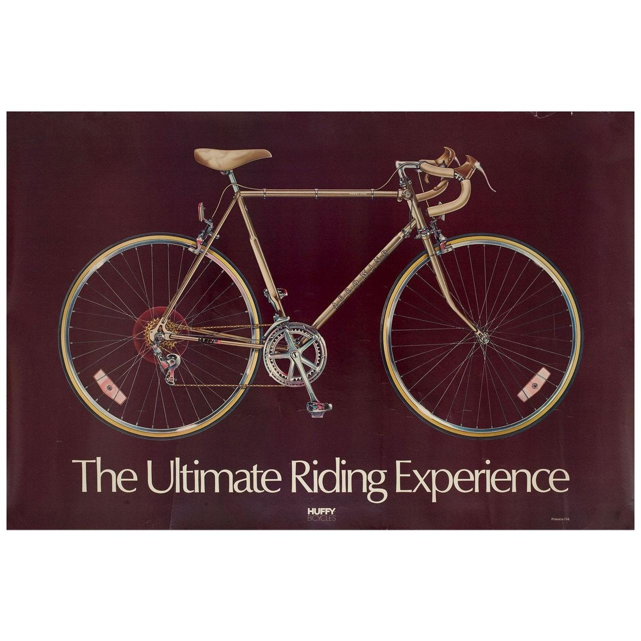 Huffy The Ultimate Riding Experience 1980s U.S. A1 Poster