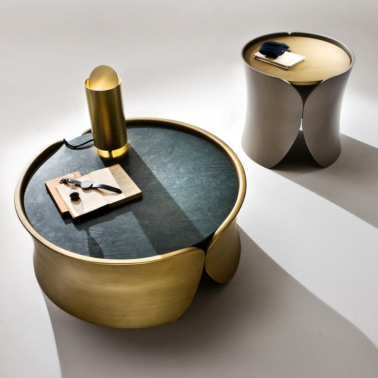 Modern Hug Side Table by Cesare Arosio For Sale