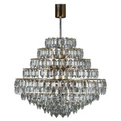 Huge 11 - Tiered, 22 Light Chandelier by Bakalowits & Sons, Vienna, circa 1960s