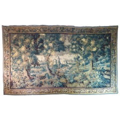 Huge 18th Century Aubusson Tapestry