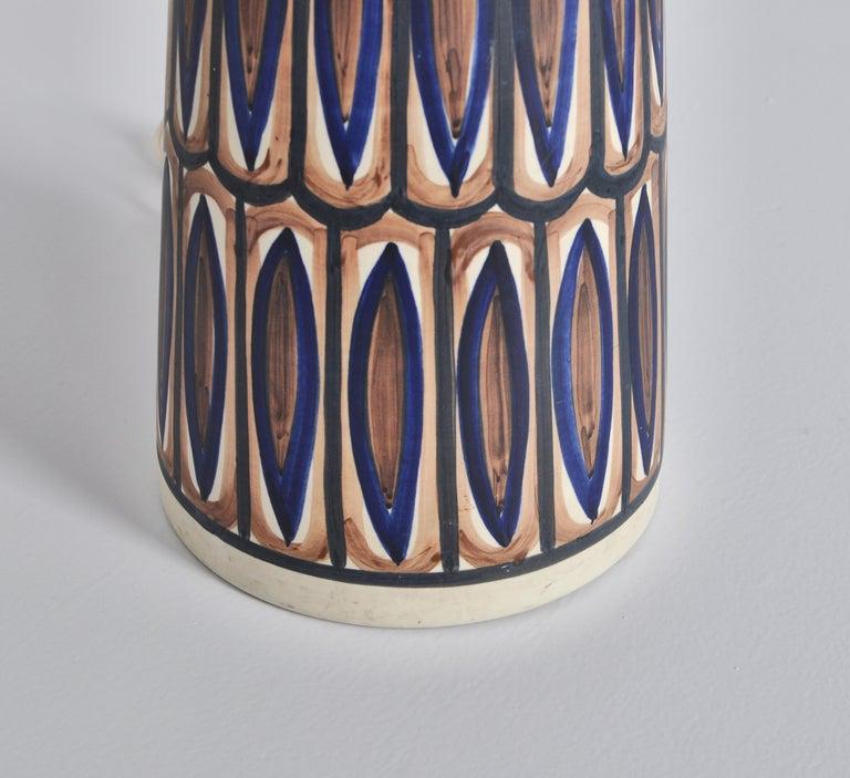 Mid-20th Century Huge Ceramic Floor Lamp by Noomi Backhausen for Søholm, 1960s, Danish Modern