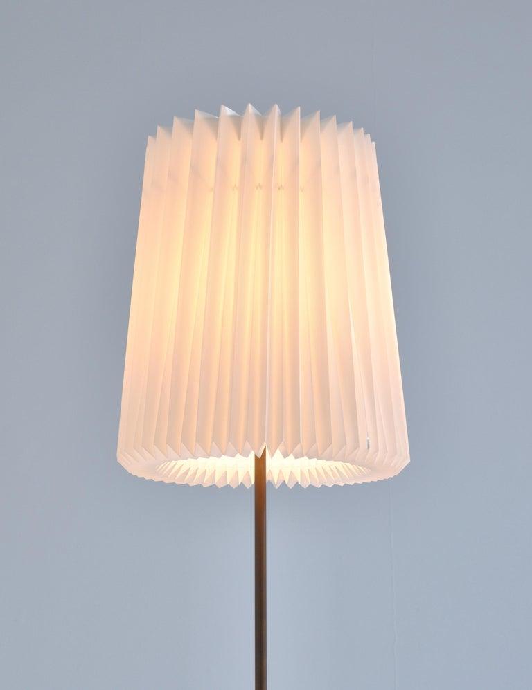 Huge Ceramic Floor Lamp by Noomi Backhausen for Søholm, 1960s, Danish Modern 1