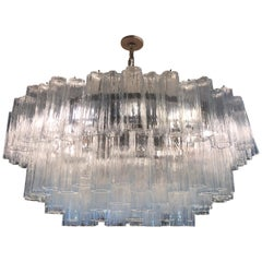 "44""  Chandelier by Toni Zuccheri Italian Iconic Ballroom Full Moon Chandelier"