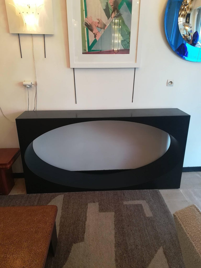 Huge Console by Stephane Ducatteau, France, Small Edition In Excellent Condition For Sale In Saint-Ouen, FR