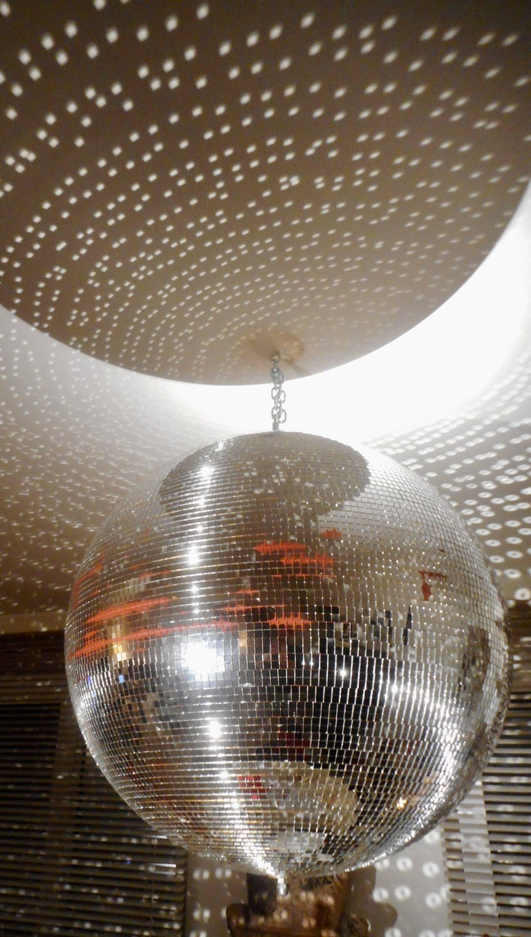 Huge Disco Mirrored Ball, Belgium, 1970 For Sale 4