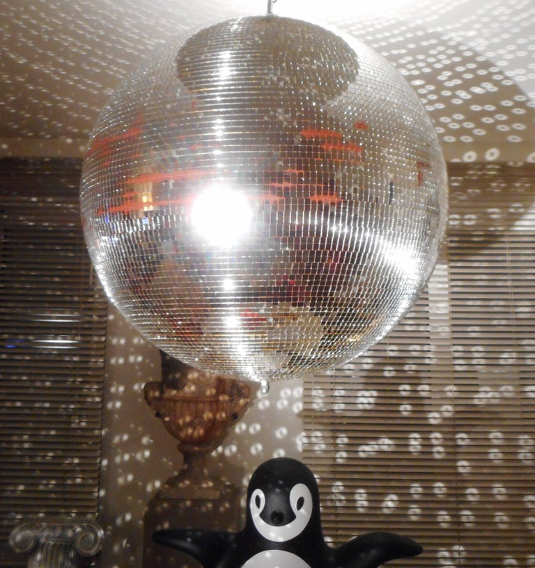 Huge Disco Mirrored Ball, Belgium, 1970 For Sale 3