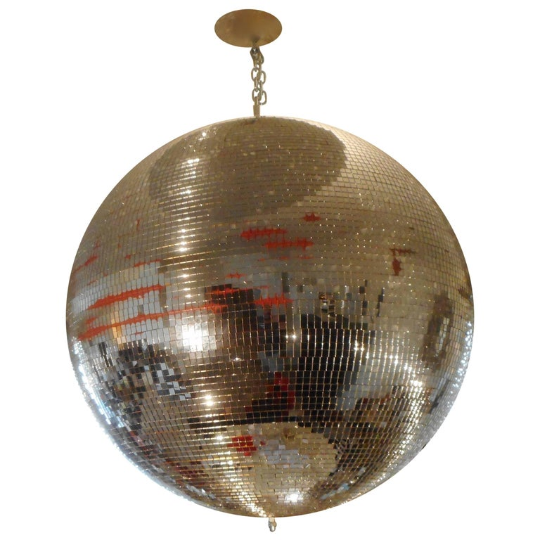 Huge Disco Mirrored Ball, Belgium, 1970 For Sale