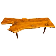 Huge Free Edge Coffee Table