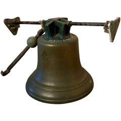 Huge Heavy Bronze Bell, Tower Bell