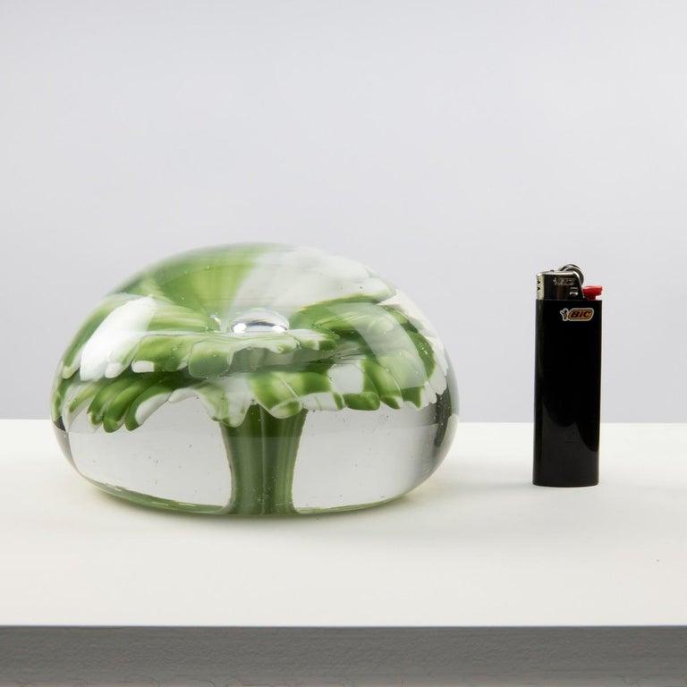 Huge Italian Blown Glass Art Desk Sculpture