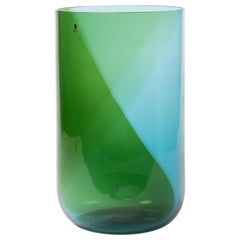 "Huge Italian Blown Glass Vase ""Coreani"" by Tapio Wirkkala"