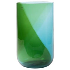"Huge Italian Blown Glass Vase ""Coreani"" by Tapio Wirkkala"