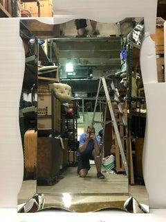 Huge Italian Modern Venetian Mirror