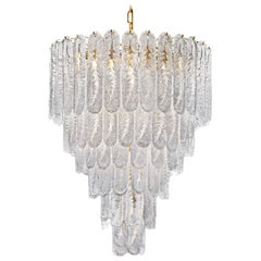 Huge Italian Murano Glass Chandelier