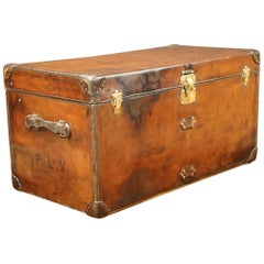 Huge Louis Vuitton Leather Steamer Louis Vuitton Trunk