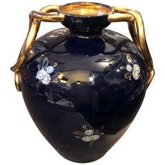 Huge Mid-Century Modern Ceramic Italian Vase by Saca, circa 1960