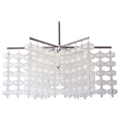 Huge Mid-Century Modern Chandelier by Aloys Ferdinand Gangkofner, 1968, Germany