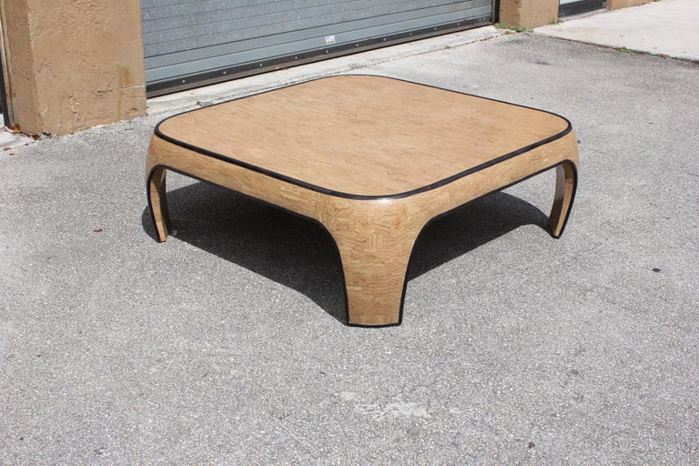 Huge Mid-Century Modern Maitland Smith Tessellated Stone Coffee Table, 1970s For Sale 7
