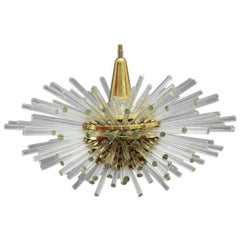 "Huge ""Miracle"" Sputnik Chandelier Vienna 1960s by Bakalowits"