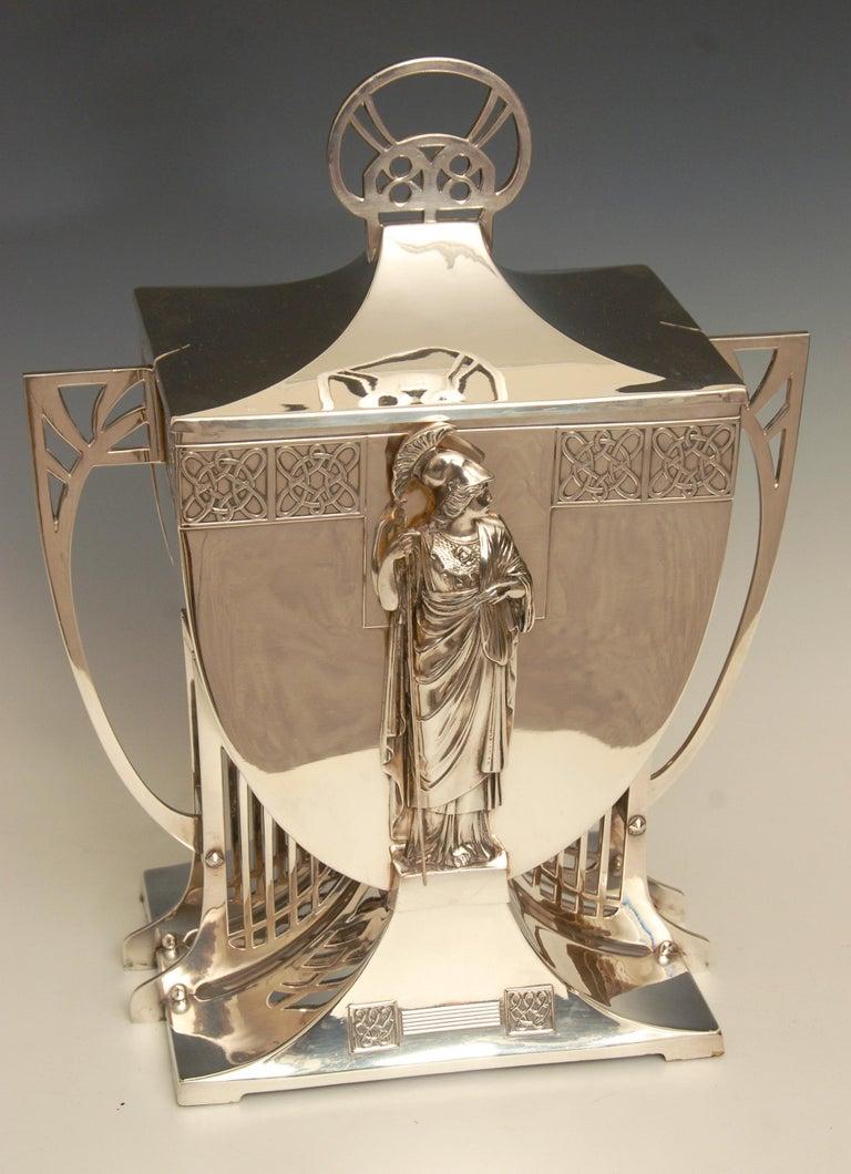 Huge Monumental Wmf Art Nouveau Ice Bucket Centrepiece