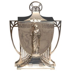 Huge Monumental WMF Art Nouveau Ice Bucket / Centrepiece circa 1910