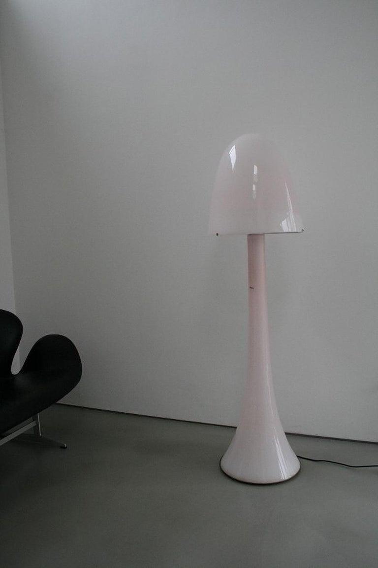 Mid-Century Modern Huge Murano Glass Floor Lamp by AV Mazzega, Italy For Sale