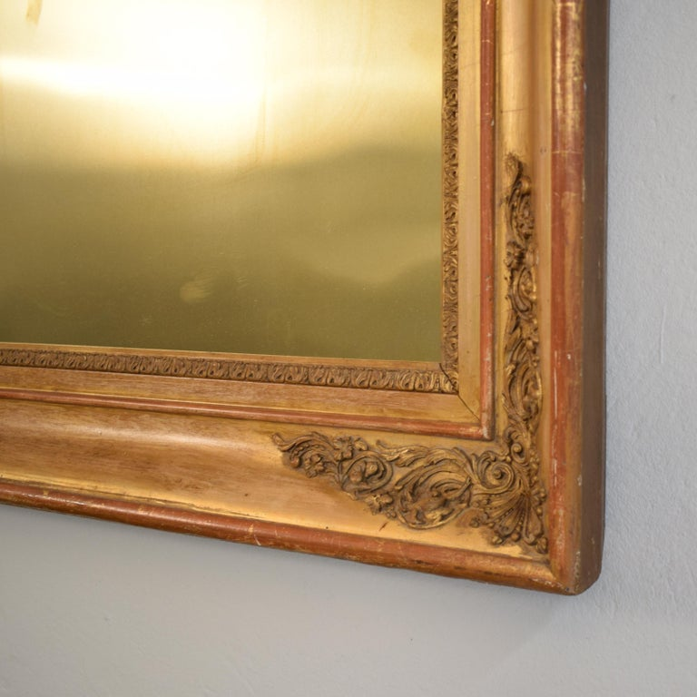 Victorian Huge Pair of Late 19th Century Frames with Modern Paintings on Brass For Sale