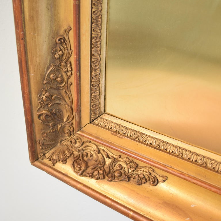 Huge Pair of Late 19th Century Frames with Modern Paintings on Brass For Sale 2