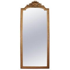 Huge Palatial Mirror, 19th Century