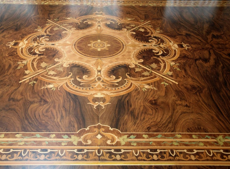 Contemporary Huge Persian Briar Wood Dining Table For Sale