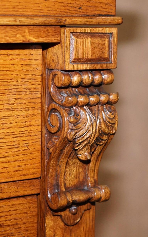 Huge Ralph Lauren Pollard Oak Chest Of Drawers Tallboy