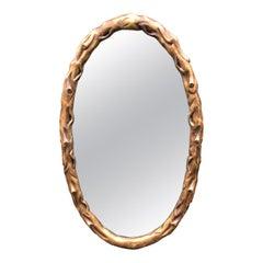 Huge Rose Tarlow Giltwood Designer Mirror