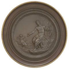 Huge Roundel Letter to Polyphemus, Wedgwood, circa 1773