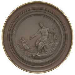 Huge Roundel Letter to Polyphemus, Wedgwood, circa 1773