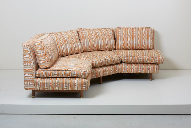 Huge Sectional Sofa by Edward Wormley for Dunbar (Upholstery needed) For Sale 3