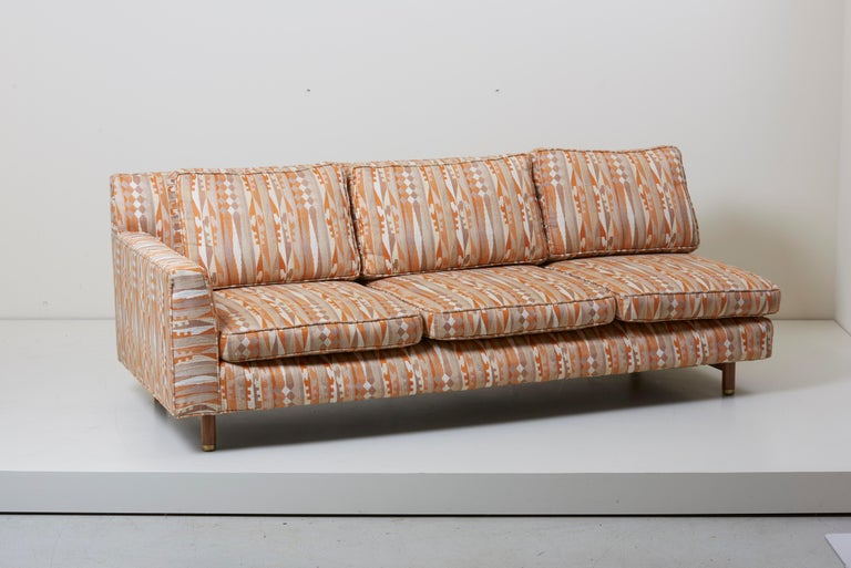 Mid-Century Modern Huge Sectional Sofa by Edward Wormley for Dunbar (Upholstery needed) For Sale
