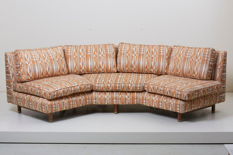 Huge Sectional Sofa by Edward Wormley for Dunbar (Upholstery needed) For Sale 2